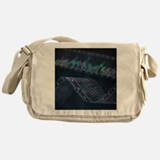 DNA analysis - Messenger Bag
