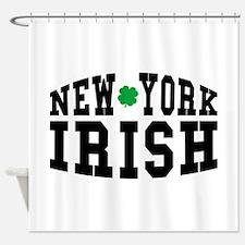 New York Irish Shower Curtain