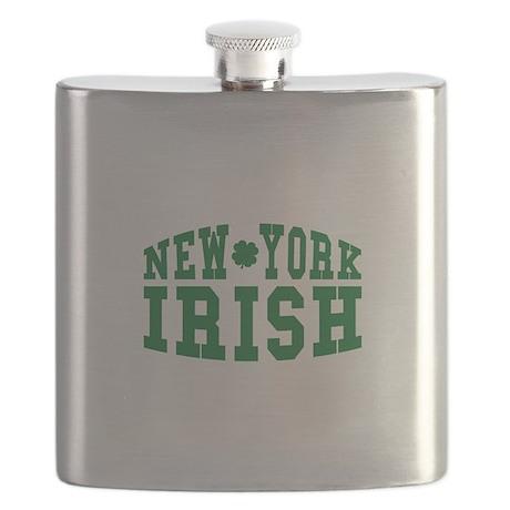 New York Irish Flask
