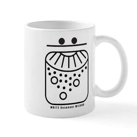 WHITE Resonant WIZARD Mug
