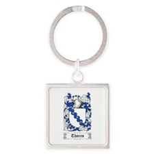 Thores Square Keychain