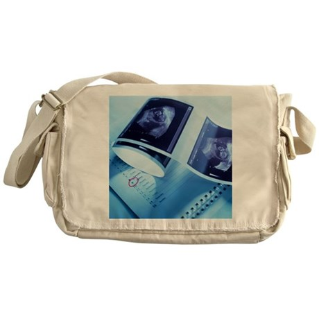 Foetus ultrasound - Messenger Bag