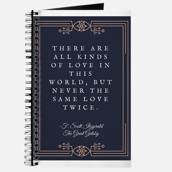 The Great Gatsby Love Quote Journal