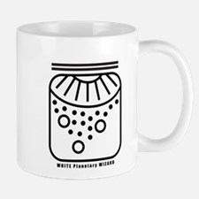 WHITE Planetary WIZARD Mug