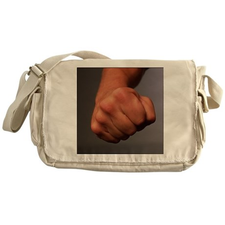 Clenched fist - Messenger Bag