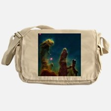 Gas pillars in the Eagle Nebula - Messenger Bag