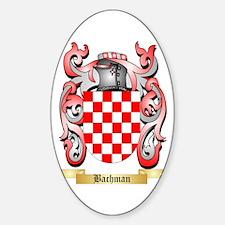 Bachman Sticker (Oval)
