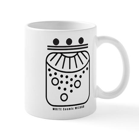 WHITE Cosmic WIZARD Mug