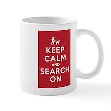 Keep Calm and Search On (Dog Team) Mug
