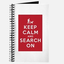 Keep Calm and Search On (Dog Team) Journal