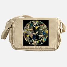 Cut and polished diamond - Messenger Bag