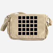 Hermann grid - Messenger Bag