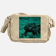 Coelacanth fish - Messenger Bag