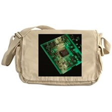 Computer circuit board - Messenger Bag