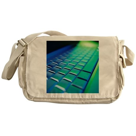 Computer keyboard - Messenger Bag
