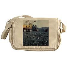 Open cast coal mining - Messenger Bag