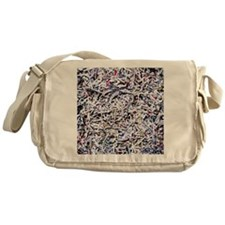 Shredded documents - Messenger Bag