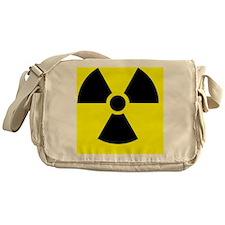 Radiation warning sign - Messenger Bag