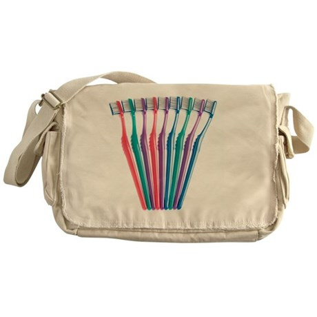 Toothbrushes - Messenger Bag