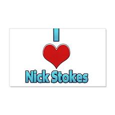 I heart Nick Stokes Wall Decal