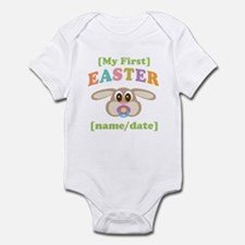 PERSONALIZE Baby Rabbit Easter Infant Bodysuit