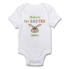 PERSONALIZE 1st Easter Bunny Infant Bodysuit
