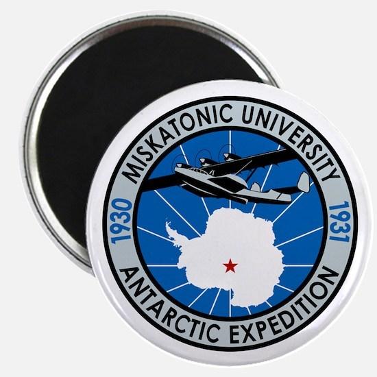 "Miskatonic Antarctic Expedition - 2.25"" Magnet (10"