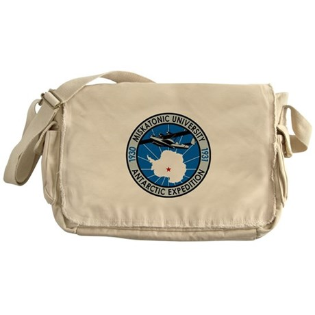 Miskatonic Antarctic Expedition - Messenger Bag