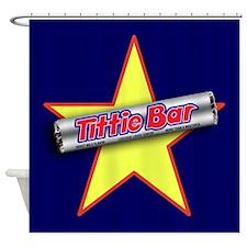 Tittie Bar Shower Curtain