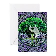 Tree of Life Balance Greeting Cards (Pk of 20)