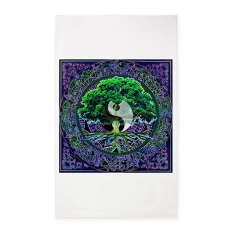 Tree of Life Balance 3'x5' Area Rug