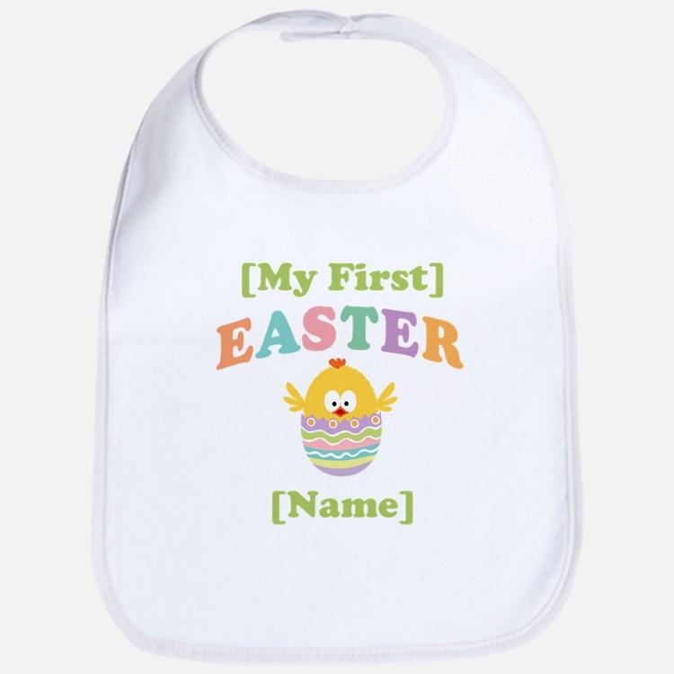 PERSONALIZE Baby's 1st Easter Bib
