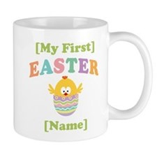 PERSONALIZE Baby's 1st Easter Small Mug