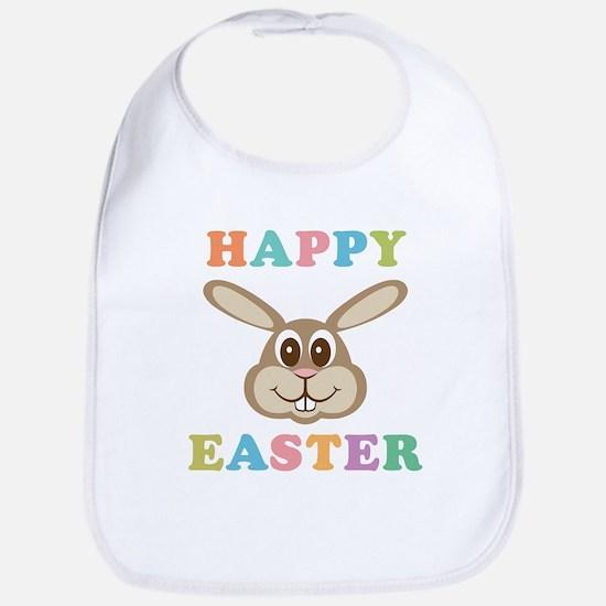 Happy Easter Bunny Bib