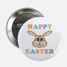 """Happy Easter Bunny 2.25"""" Button (100 pack)"""