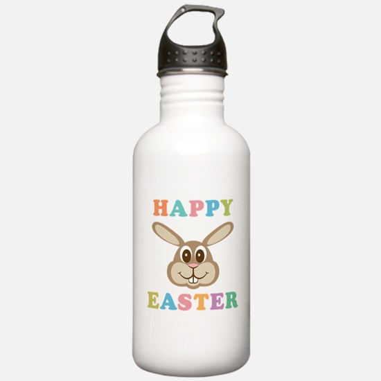 Happy Easter Bunny Sports Water Bottle