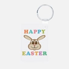 Happy Easter Bunny Keychains
