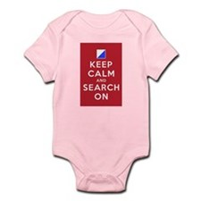 Keep Calm and Search On (Incident Base) Infant Bod