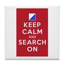 Keep Calm and Search On (Incident Base) Tile Coast