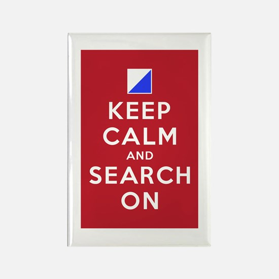 Keep Calm and Search On (Incident Base) Rectangle