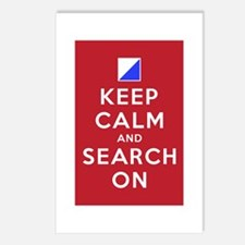 Keep Calm and Search On (Incident Base) Postcards