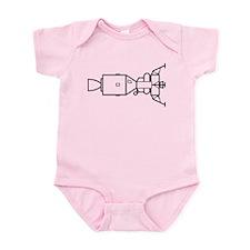 Ad Astra Per Aspera Infant Bodysuit