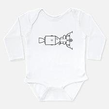 Ad Astra Per Aspera Long Sleeve Infant Bodysuit