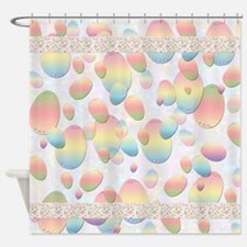 Easter Egg Shower Curtain