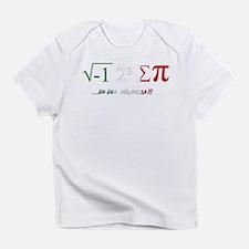 i ate sum pi Infant T-Shirt