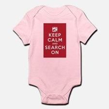 Keep Calm and Search On (Cave Rescue) Infant Bodys