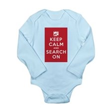 Keep Calm and Search On (Cave Rescue) Long Sleeve