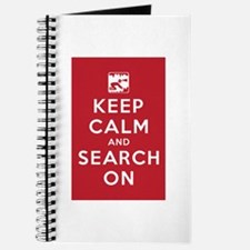 Keep Calm and Search On (Cave Rescue) Journal
