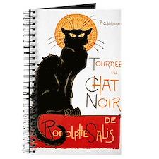 Tournee du Chat Steinlen Black Cat Journal