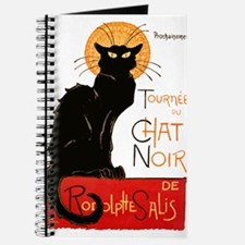 Tournee du Chat Steinlen Black Cat Journal
